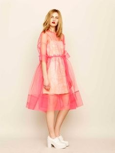 Molly Goddard for ASOS tulle dress <3 Perfection!
