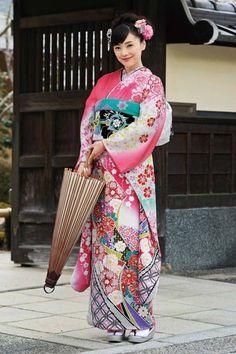 General background->Costumes ::Kimono3