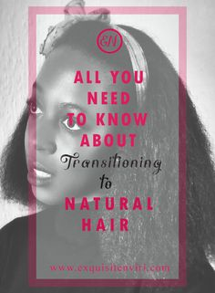All the tips you need to know about transitioning from relaxed hair to starting a natural hair journey. Love Natural, Natural Hair Tips, Natural Curls, Natural Hair Styles, Relaxed Hair Journey, Natural Hair Journey, Natural Hair Transitioning, Wash And Go, Voluminous Hair