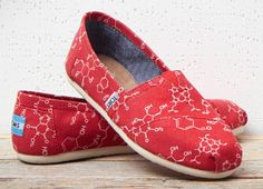 Ionic or covalent, you'll form all sorts of bonds when you wear TOMS Chemical Structure Classics.