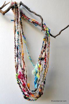 wool dancer art yarn!