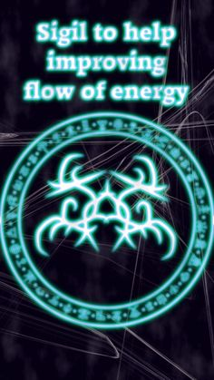Sigil to help improving flow of energy