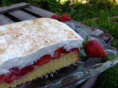Gestern hatte ich Besuch von einer Kollegin. Zum Kaffee gab es diesen köstlichen Kuchen. Bei den hochsommerlichen Temperaturen war dieser Erdbeerkuchen genau der Richtige. Im Garten unter dem Sonnenschirm konnten ...