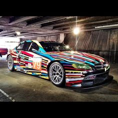 BMW M3 GT2 by Jeff Koons