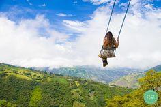 Swing: «La casa del árbol» in Baños, Ecuador.