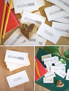 breanna rose business cards