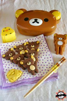 Les Folies de Lau-Lotte: :: COOKING MANIA :: Cookies Rilakkuma