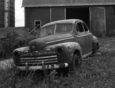 nice '46 Ford coupe - Photo Gallery: Abandoned Cars and Trucks