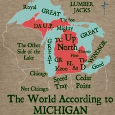 Only Michiganders can really appreciate this.  HAHA!