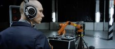 """Short Takes: """"Automatica: Robots Vs. Music"""" - The American Society of Cinematographers Cinematography, Robots, Interview, American, Music, Musica, Musik, Cinema, Robot"""