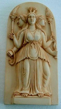 reek goddess hecate | Greek Goddess Hecate statues, Cybele-Hecate Plaque, Hekate rubber ...
