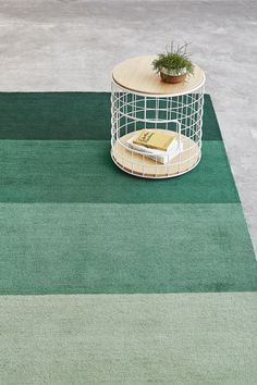 Gus Modern's Gradient Rug is a mid-pile, hand-tufted rug with a bright ombre pattern. While a distinctly modern design, Gradient's construction brings a warmth to the rug. Hallway Carpet Runners, Hand Tufted Rugs, Wireframe, Modern Carpet, Furniture Collection, Fall 2018, Rugs On Carpet, Stair Carpet, Color Pop