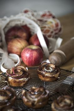 Rose Apple tarts with Jasmine Silver Needle Syrup