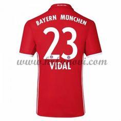 Bayern Munich Nogometni Dresovi 2016-17 Vidal 23 Domaći Dres Komplet