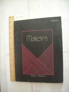 Rom J. Markin MAKETING Student Study Guide Business Administration, Techniques