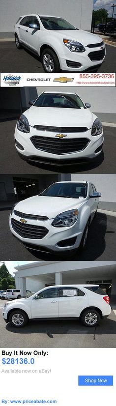 SUVs: Chevrolet: Equinox Fwd 4Dr Ls Fwd 4Dr Ls New Suv Automatic Summit White BUY IT NOW ONLY: $28136.0 #priceabateSUVs OR #priceabate
