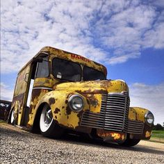 A Panel Truck RAT ROD!