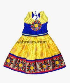 Floral Work Print Lehenga | Indian Dresses