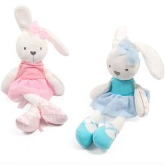 Soft Plush Toys For Children Bunny Sleeping Mate Stuffed &Plush Animal Baby For Infants Cute Easter Rabbit Doll Baby-in Stuffed & Plush Animals from Toys & Hobbies on AliExpress Baby Girl Toys, Toys For Girls, Kids Toys, Baby Girls, Plush Dolls, Doll Toys, Plush Animals, Baby Animals, Rabbit Toys