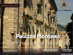 Con @miccign e @Vito Verrastro, il 28 aprile, andiamo a Palazzo Montano a Guardia Perticara (PZ)