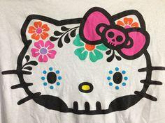 hello kitty sugar skull - Buscar con Google