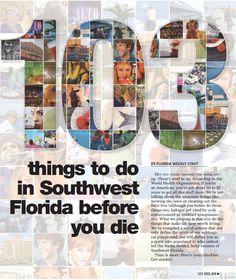 103 things to do in Southwest Florida before you die | Bonita Springs Newspaper in FL | Florida Weekly