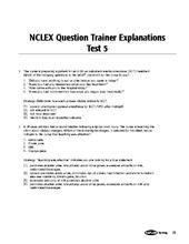 Kaplan Nclex Sample Exam 6 | educate me | Pinterest | Nclex ...