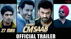 #20160527 #SaadeyCMSaabTRAILER SAADEY CM SAAB Trailer - Harbhajan Mann - Gurpreet Ghuggi https://youtu.be/7dL6rDBQzMk