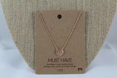 """This dainty Baseball pendant necklace is approximately 16"""". This must have necklace is high quality and light weight. Made in Korea. Available in Silver, Gold, and Rosegold."""
