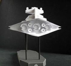 Gwiezdny Niszczyciel (Star Destroyer) typu Imperial ok. 1:9000 http://mojeminiatury.waw.pl/gwiezdny-niszczyciel-star-destroyer-typu-imperial-ok-19000/