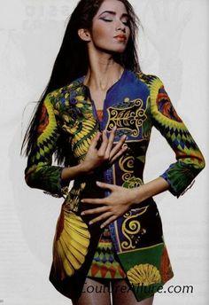 Gurmit Kaur in Gianni Versace 1991