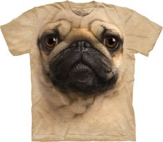 This Pug-Face T-Shirt | 21 Animal Accessories That You Urgently Need In Your Life