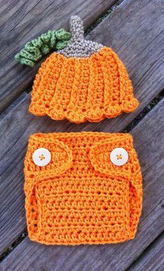 Newborn Girl or Boy Crochet Halloween by SusieCrochetBoutique