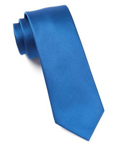 GROSGRAIN SOLID TIES - CLASSIC BLUE | Ties, Bow Ties, and Pocket Squares | The Tie Bar