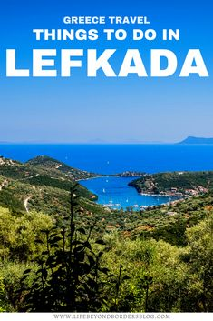 Top Things to do in Lefkada, Greece I what to do in Greece I things to do in Greece I where to go in Greece I places to go in Greece I Greek Islands travel I Greece travel I travel tips I visit Greece I Greece tourism I Greece guides I Europe travel I Greece Tourism, Greece Travel, Europe Travel Tips, Travel Destinations, Stuff To Do, Things To Do, Visit Greece, Voyage Europe, Amazing Pics