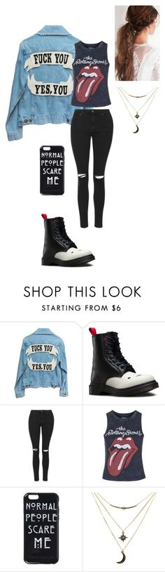 """""""Untitled #118"""" by vic-valdez on Polyvore featuring Dr. Martens, Topshop and Charlotte Russe"""