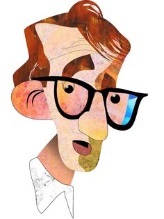 Woody Allen - Dunway Enterprises - http://www.learn-to-draw.org/caricatures_clb.html?hop=dunway