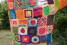 "taie d'oreiller + ""brise bise"" cuisine ? Blanket, Crochet, Weaving, Embroidery, Tricot, Home, Kitchens, Chrochet, Rug"