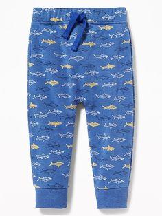 Printed Fleece Sweatpants for Toddler Boys