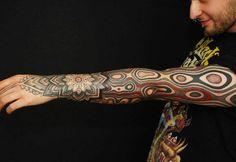 Sleeve Tattoo by Gerhard Wiesbeck | Tattoo No. 11084