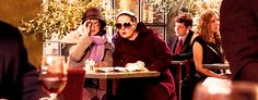 """And she would be the best partner in scheming while rocking designer shades. 