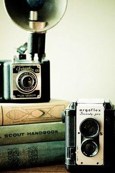 Vintage. Camera. CaribouInspires.com
