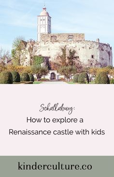 Looking for things to do in Austria with kids? Explore a Renaissance castle and an Italian garden in the heart of Austria's Wachau valley. Wachau Valley, Italian Garden, Stuff To Do, Castle, Culture, Explore, Mansions, House Styles, Blog