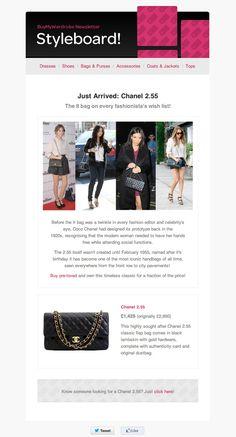BuyMyWardrobe's newsletter - Styleboard