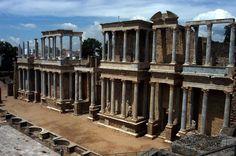 El conjunto arqueológico de Mérida es uno de los yacimientos romanos más extensos de España