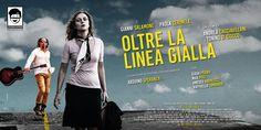 Poster 6x3 promozionale per il film Oltre La Linea Gialla (2016)