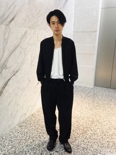 Fashion Art, Mens Fashion, Japanese Men, Black Love, Boy Outfits, Street Wear, Normcore, Hairstyle, Actors