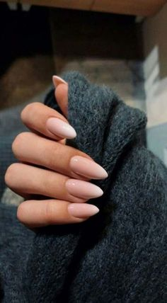 Almond nails for the winter; Nails for . - Almond nails for the winter; Nails for … Check more at Almond Nail Art, Almond Acrylic Nails, Fall Almond Nails, Natural Almond Nails, Long Almond Nails, Almond Shape Nails, Almond Nails Pink, Natural Color Nails, Long Natural Nails