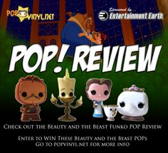 POP! Beauty and the Beast Series Review - Visit http://popvinyl.net/pop-vinyl-news/pop-beauty-beast-series-review/ for more information - #funko #popvinyl #Funkopop #Chip, #Cogsworth, #Disney, #Funko, #FunkoPop, #Lumiere, #MrsPottsAndChip, #PopVinyl, #Pots, #Review, #Sdcc, #Toy