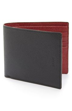 Free shipping and returns on Bally Calfskin Wallet at Nordstrom.com. Signature red trim lines a handsome, spacious wallet formed in finely grained calfskin leather with ample pockets for your on-the-go lifestyle.
